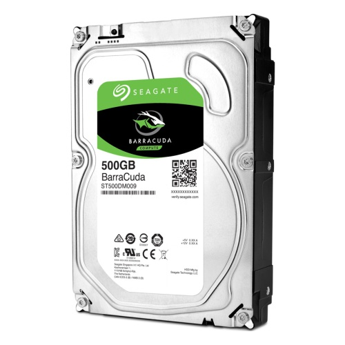 "3,5"" HDD 500Gb Seagate BarraCuda (ST500DM009), HDD Жесткие диски"