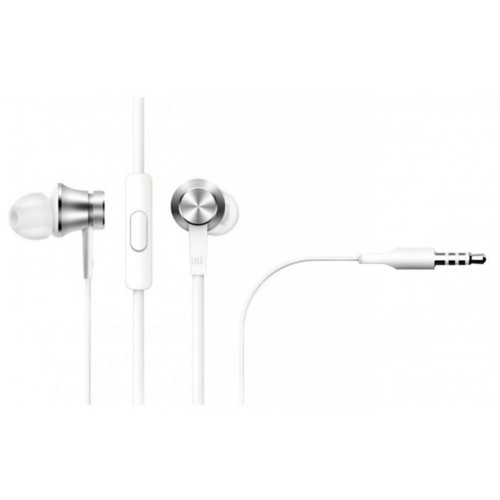 Гарнитура Xiaomi Piston Headphone Basic, Серебристый (ZBW4355TY), Наушники