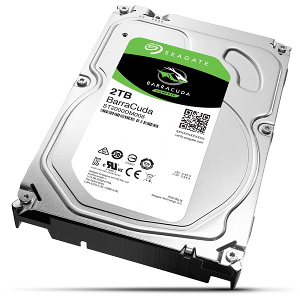 "3,5"" HDD 2Tb Seagate Barracuda (ST2000DM008), HDD Жесткие диски"