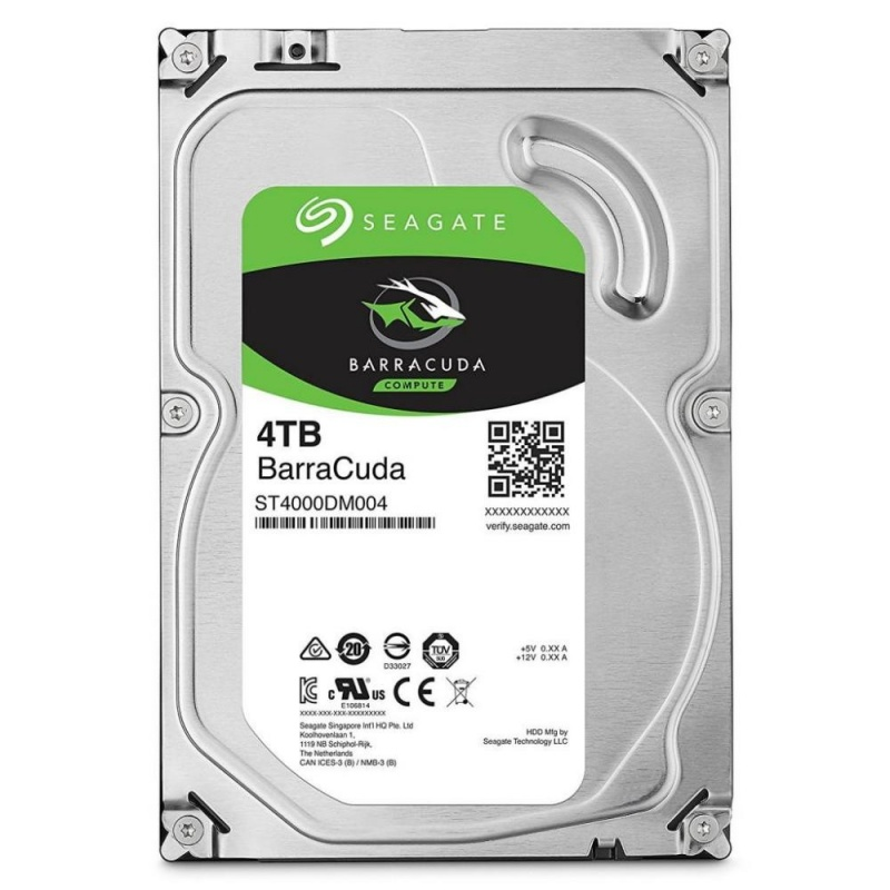 "3,5"" HDD 4Tb Seagate Barracuda (ST4000DM004), HDD Жесткие диски"